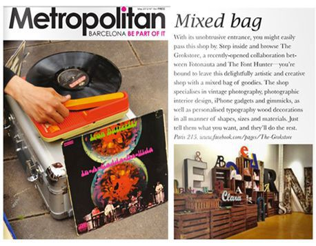Reportaje destacado en la publicación de cultura, actualidad y tendencias Metropolitan mayo 2012
