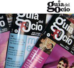 Reportaje sobre tiendas en la publicación Guia del ocio julio 2012. Imagen de portada