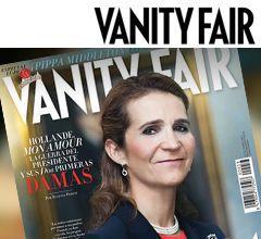 Piezas para portada publicación Vanity Fair enero 2013. Imagen de portada