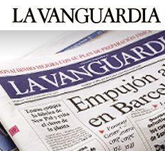 Artículo sobre nosotros en el diario de información general La Vanguardia en febrero de 2014. Imagen portada