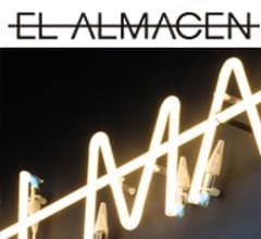 Imagen neón cartel para El Almacen. Portada