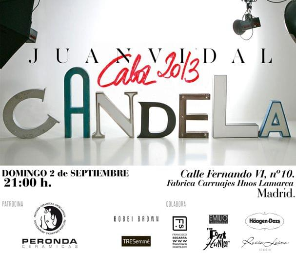 Colaboración. Cartel Juan Vidal Fashion Week Madrid