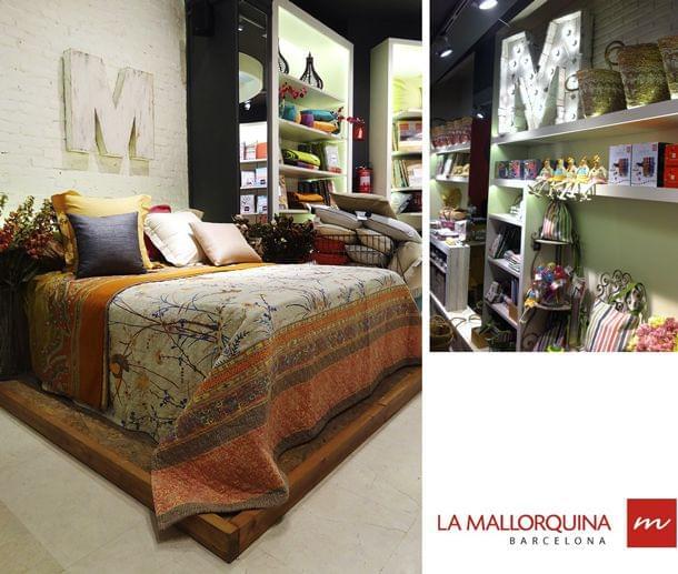 Letra M para las tiendas La Mallorquina. Madera o lámparas