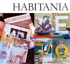 Muestra de nuestros trabajos para decoración de espacios interiores en la revista especializada en decoración Habitania en agosto de 2012. Imagen de portada