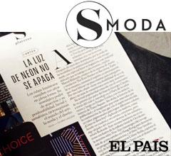 Artículo suplemento El País S MODA sobre neón