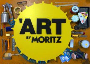 rótulo evento fábrica Moritz